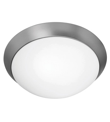 Access Lighting Cobalt 3 Light Flush-Mount in Brushed Steel with Opal Glass 20626GU-BS/OPL photo