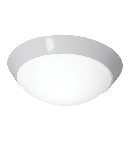 Access C20626WHOPLEN1218BS Cobalt 2 Light 15 inch White Flush Mount Ceiling Light photo