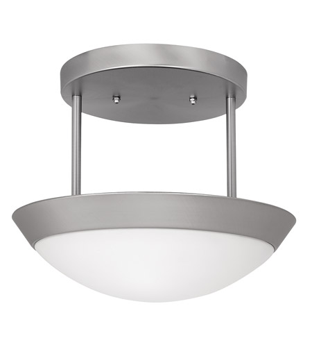 Access Lighting Cobalt 2 Light Semi-Flush in Brushed Steel 20638-BS/OPL photo
