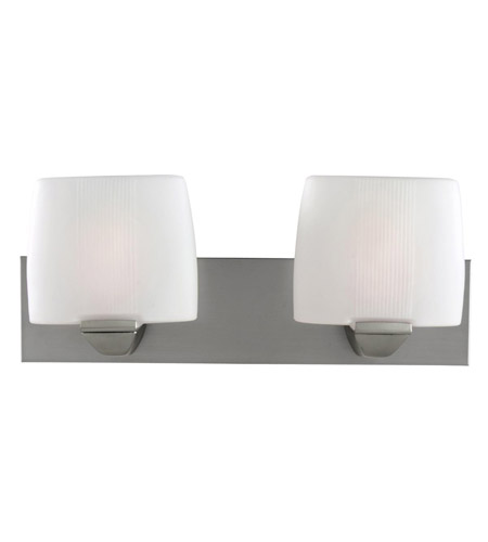 Access Lighting Sophia 2 Light Vanity in Satin 20642-SAT/OPL photo