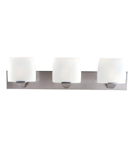 Access Lighting Sophia 3 Light Vanity in Satin 20643-SAT/OPL photo