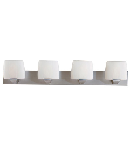 Access Lighting Sophia 4 Light Vanity in Satin 20644-SAT/OPL photo