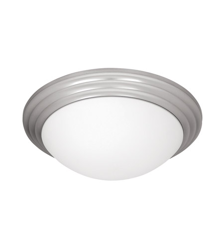 Access 20651LEDD-BS/OPL Strata LED 14 inch Brushed Steel Flush Mount Ceiling Light photo
