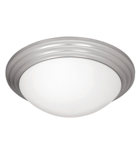 Access 20652LEDD-BS/OPL Strata LED 16 inch Brushed Steel Flushmount Ceiling Light photo