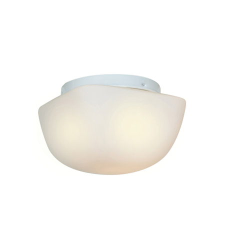 Access 20656LEDD-WH/OPL Vega LED 8 inch White Flush Mount Ceiling Light photo