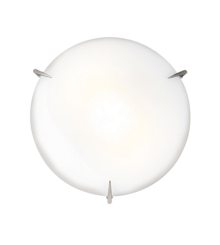 Access 20661-BS/OPL Zenon 2 Light 12 inch Brushed Steel Flush Mount Ceiling Light in Incandescent photo
