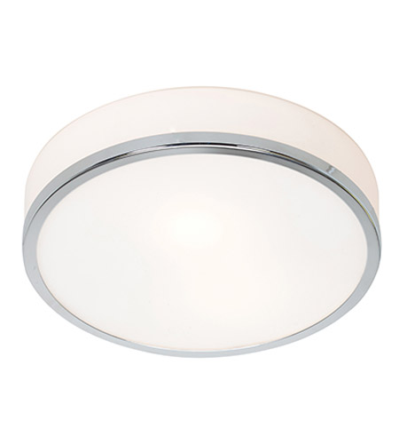 Access 20670-CH/OPL Aero 1 Light 10 inch Chrome Flush Mount Ceiling Light in Incandescent  photo