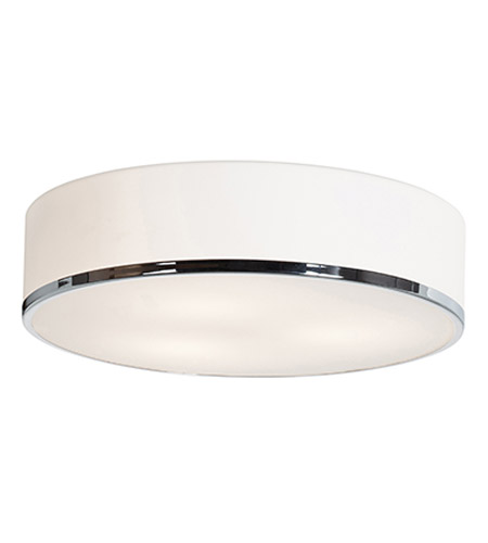 Access 20672-CH/OPL Aero 3 Light 16 inch Chrome Flush Mount Ceiling Light in Incandescent photo