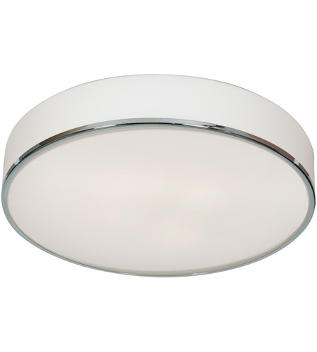 Access Lighting Aero 1 Light Flush Mount in Chrome 20677LED-CH/OPL photo