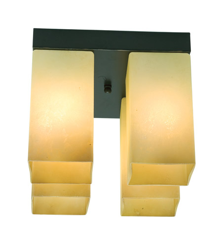 Access Lighting Turin 4 Light Flush Mount in Oil Rubbed Bronze 20735-ORB/ASC photo