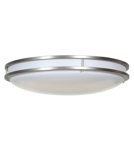 Access 20741LEDD-BS/ACR Saloris LED 23 inch Brushed Steel Flush Mount Ceiling Light photo