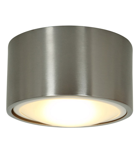 Access Lighting Ares 1 Light Flush or Wall Mount in Brushed Steel 20742LED-BS photo