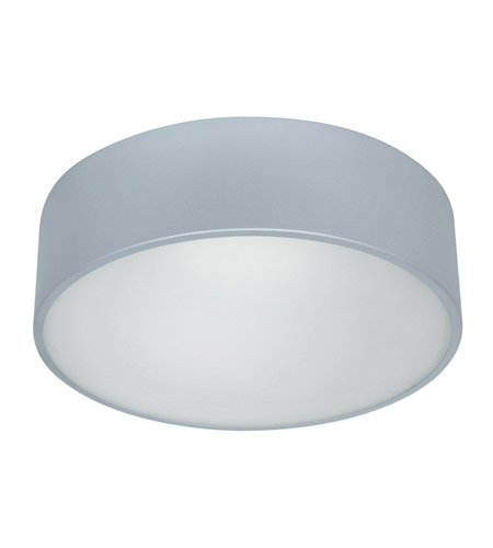 Access Lighting TomTom 2 Light Flushmount in SAT with Frosted Glass 20746GU-SAT/FST photo