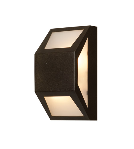 Access 20753-BRZ/FST Mission Edge 2 Light 10 inch Bronze Outdoor Wall Light photo