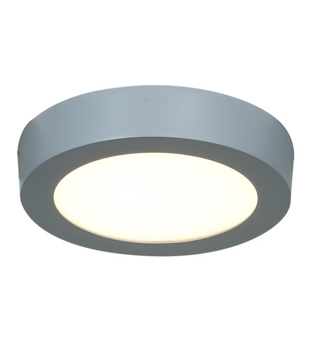 Access Lighting Strike 1 Light Flush Mount in Silver 20770LED-SILV/ACR photo