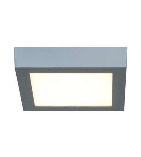 Access 20772LED-SILV/ACR Access Lighting Strike 1 Light Flush Mount in Silver 20772LED-SILV/ACR  photo