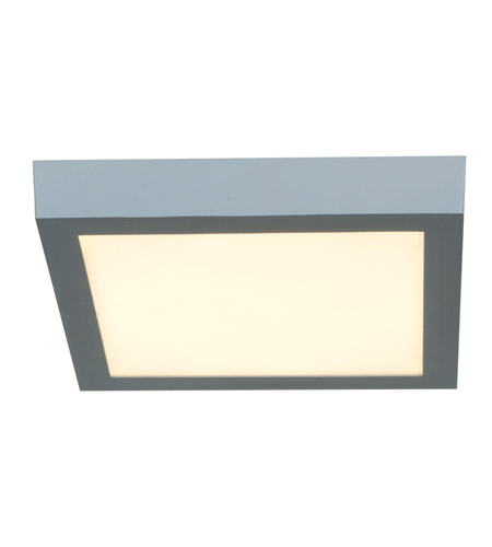 Access 20773LED-SILV/ACR Strike LED 10 inch Silver Flush Mount Ceiling Light photo