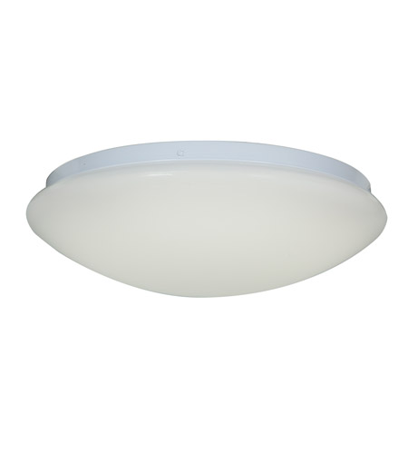 Access 20781LED-WH/ACR Catch LED 16 inch White Flush Mount Ceiling Light photo