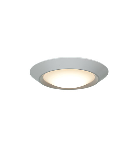 Access 20782LED-WH/ACR Mini LED 6 inch White Flush Mount Ceiling Light photo
