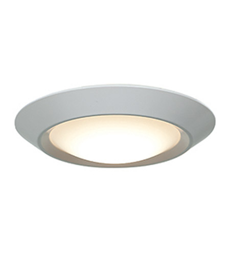 Access 20783LEDD-WH/ACR Mini LED 7 inch White Flush Mount Ceiling Light photo