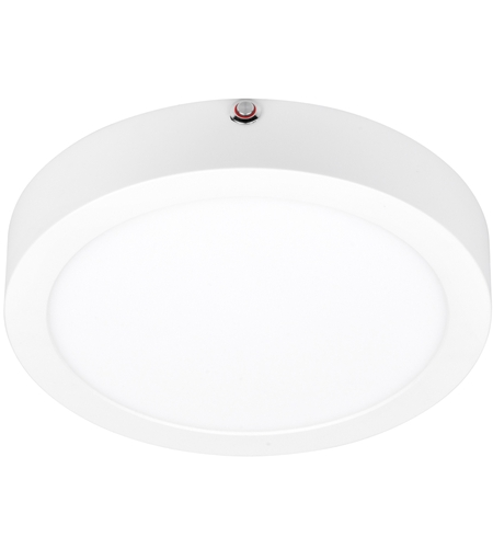 Access 20850LEDEM-WH/ACR ModPLUS LED 9 inch White Flush Mount Ceiling Light, Round photo