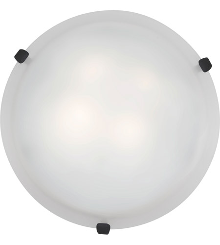 Access Lighting Mona 1 Light Flush Mount in Rust 23020LED-RU/WH photo