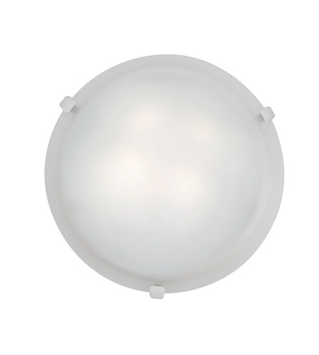Access 23020GU-WH/WH Mona 2 Light 16 inch White Flush Mount Ceiling Light photo