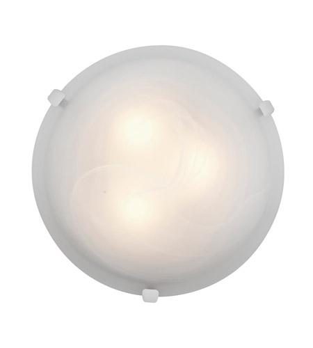 Access 23020LEDD-WH/ALB Mona LED 16 inch White Flush Mount Ceiling ...