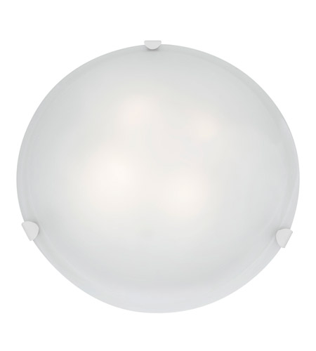 Access 23021GU-WH/WH Mona 3 Light 20 inch White Flush Mount Ceiling Light photo