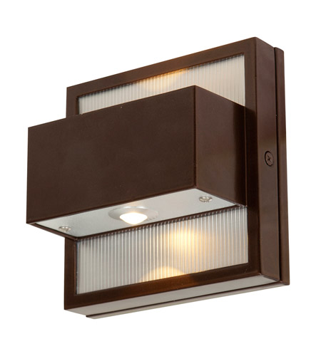 Access Lighting ZyZx 2 Light Outdoor Wall in Bronze 23064LED-BRZ photo