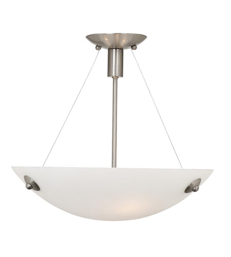 Access Lighting Noya 3 Light Semi Flush Mount in Bronze with Alabaster Glass C23071BRZALBEN1313B photo