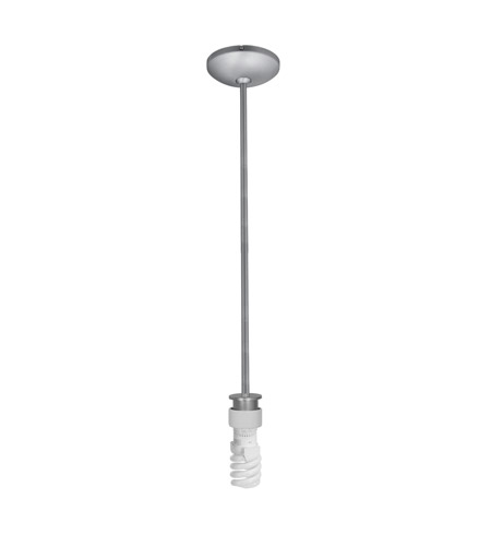 Access 23086FC-BS Julia 1 Light 5 inch Brushed Steel Pendant Ceiling Light photo