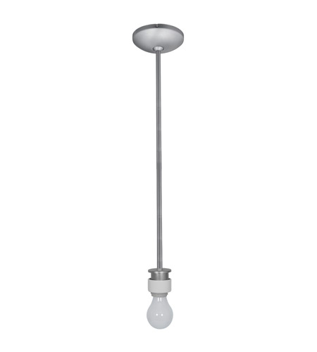 Access Lighting Sydney 1 Light Stem Pendant Assembly in Brushed Steel 23087FC-BS photo