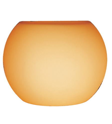 Access Lighting Pumpkin Shade in Amber 23102-14/AMBER photo