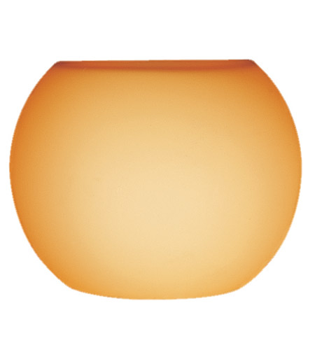 Access Lighting Pumpkin Shade in Amber 23102-8/AMBER photo
