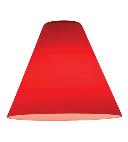 Access 23104-RED Inari Silk _ Glass Shade in Red photo