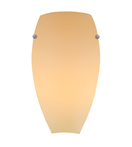 Access Lighting Inari Silk 1 Light Sconce 23120-CRM photo