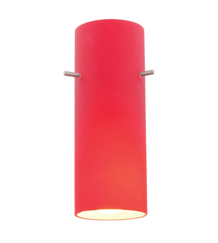 Access 23130-RED Inari Silk Red Glass Shade, Cylinder photo