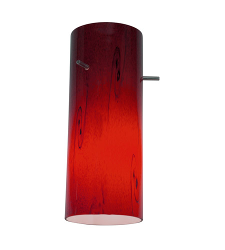 Access 23130-RUSKY Inari Silk Ruby Sky Glass Shade in Red Sky photo