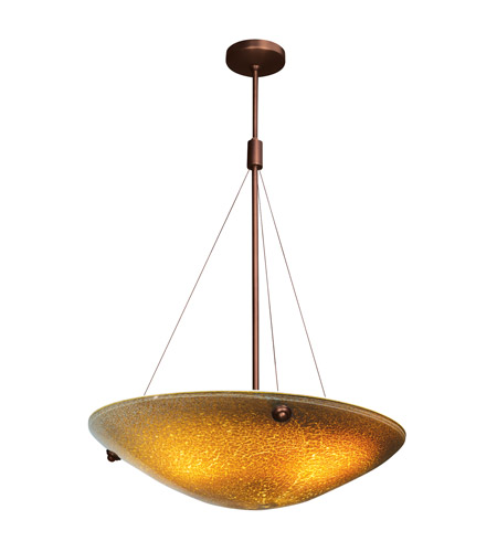 Access Lighting Safari 4 Light Pendant in Bronze 23201-BRZ/SLA photo