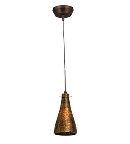 Access Lighting Cavo 1 Light Mini Pendant In Bronze With Gold Gl 23218uj 3 Brz Oro