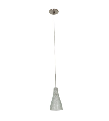 Access 23218UJ-BS/CRY Cavo 1 Light 5 inch Brushed Steel UniJack Pendant Ceiling Light photo