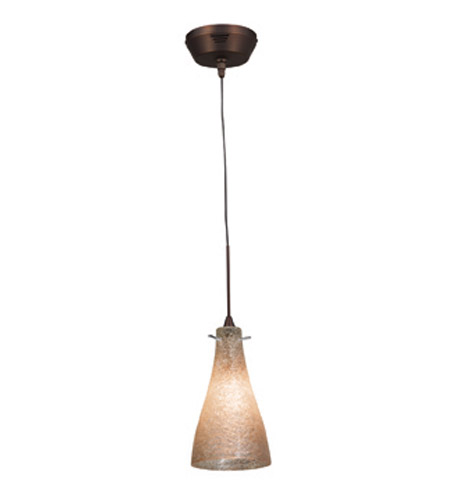 Access Lighting Cavo 1 Light UniJack Pendant without Canopy in Bronze 23219UJ-BRZ/CRY photo