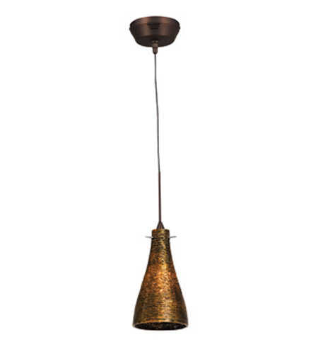 Access Lighting Cavo 1 Light UniJack Pendant without Canopy in Bronze 23219UJ-BRZ/ORO photo