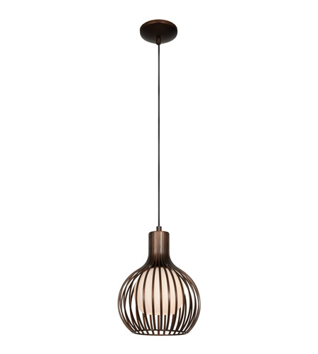 Access 23437-BRZ Chuki 1 Light 8 inch Bronze Pendant Ceiling Light photo