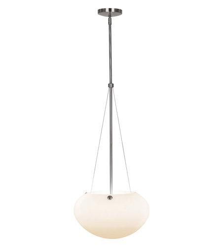 Access Lighting Cosmopolitan Manhattan 3 Light Cable Pendant in Brushed Steel 23632-BS/OPL photo