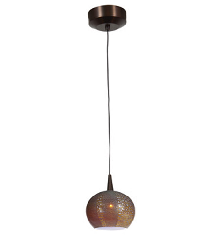 Access Lighting Safari 1 Light Pendant in Bronze 23652-BRZ/SAO photo