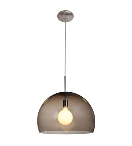 Access Lighting Acrolite 1 Light Pendant in Brushed Steel 23760-BS/ASM photo