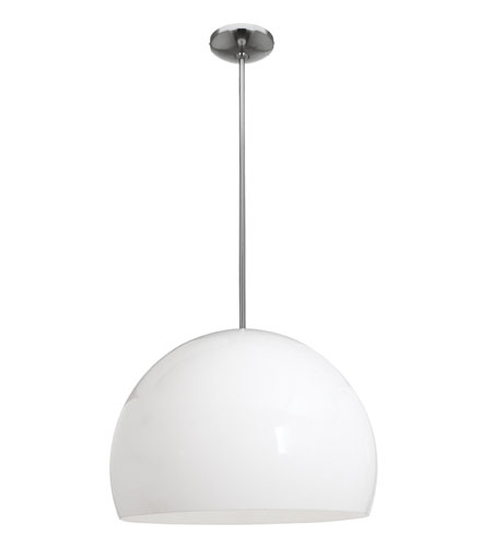 Access Lighting Acrolite 1 Light Pendant in Brushed Steel 23761-BS/SM photo