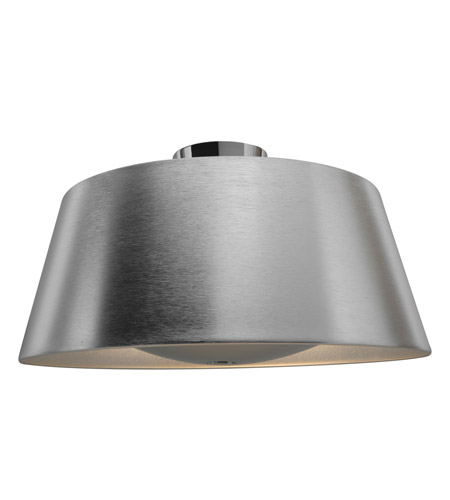 Access Brushed Steel Semi-Flush Mounts